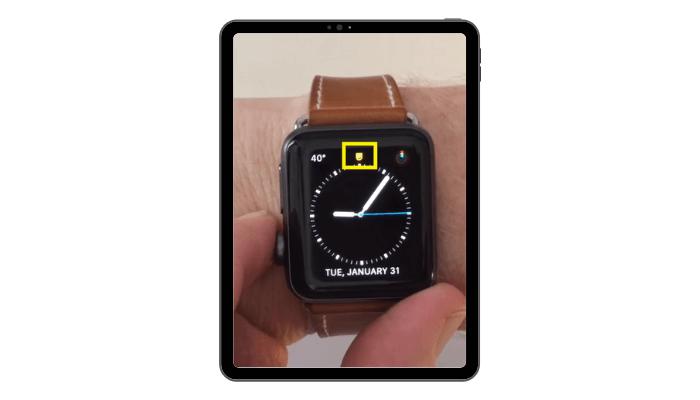 Theater Mode on Apple Watch