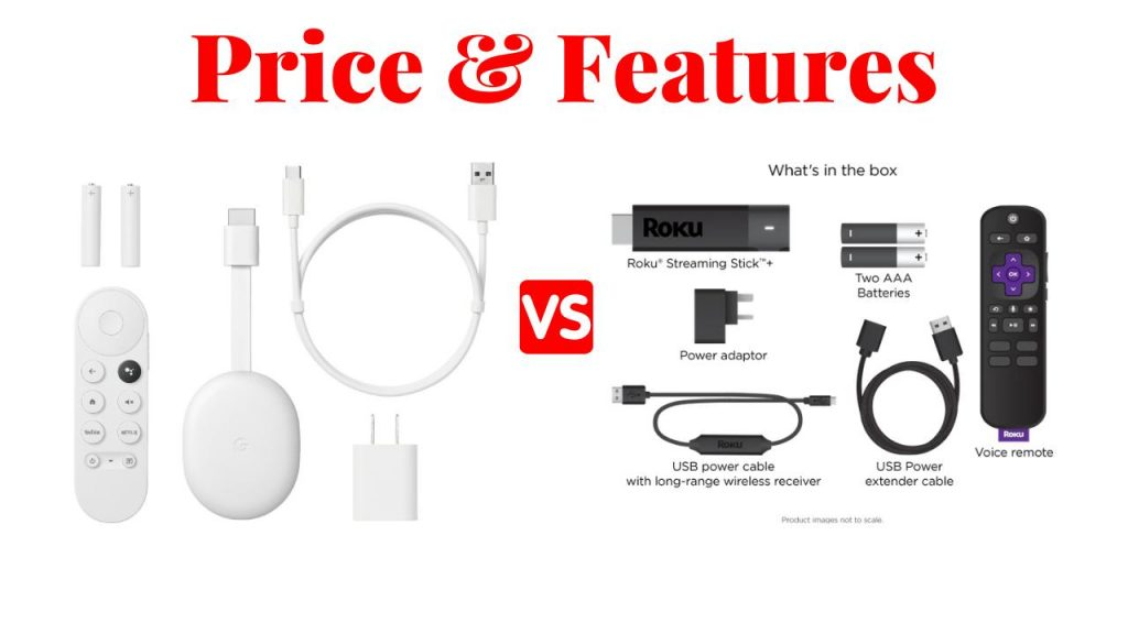 price and features