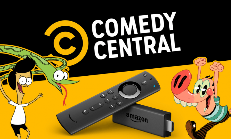Comedy Central on Firestick