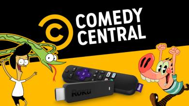 Comedy Central on Roku