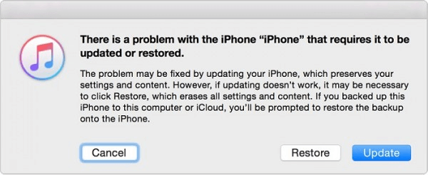 tap Restore - How to Restore iPhone without Updating
