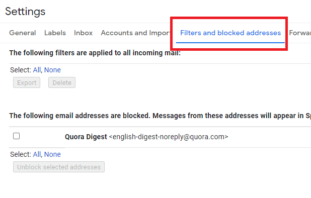 How to Unblock Someone on Gmail