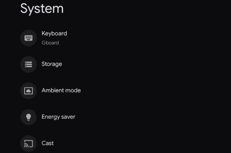 Choose Ambient mode