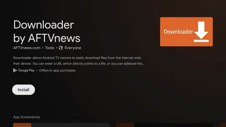 Sideload apps on Chromecast with Google TV with the Downloader