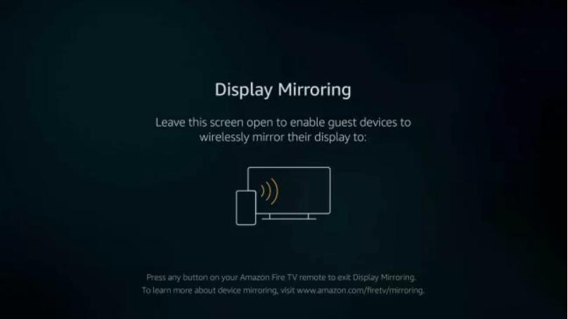 Enable Screen Mirroring on Firestick