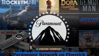 Paramount Network on Firestick