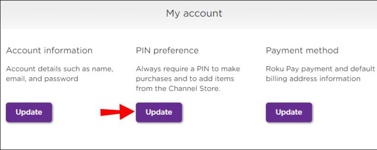 click Update button