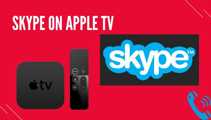 Skype on Apple TV