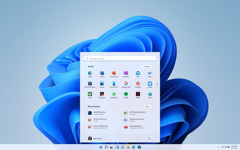 Windows 11 - Interface