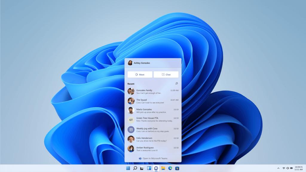 Chats at Microsoft Teams