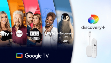Discovery Plus on Google TV