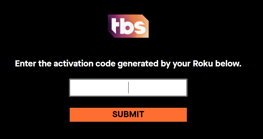 Activate TBS on Roku