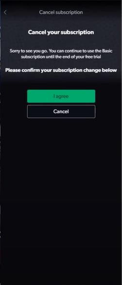 Cancel Kayo Subscription