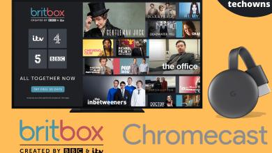 Chromecast BritBox