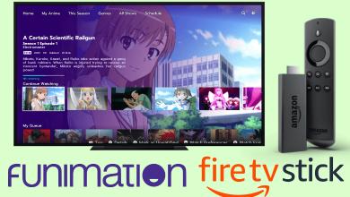 Funimation on Firestick