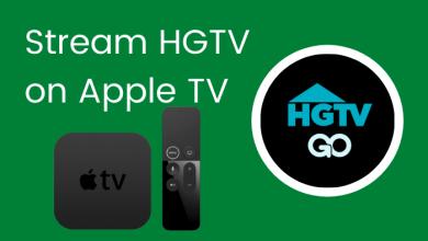 HGTV on Apple TV