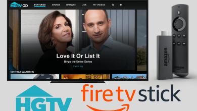 HGTV on Firestick