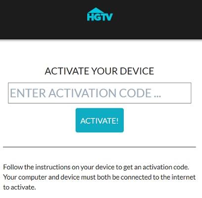 Activate HGTV on Roku
