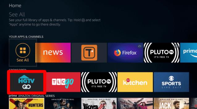 download the HGTV app