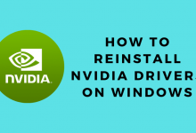 How to Reinstall NVIDIA Drivers on Windows
