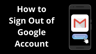 How to Sign Out of Google Account on Android