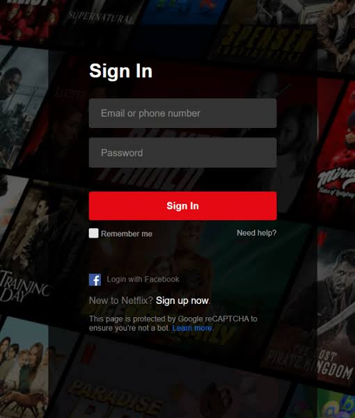 Sign in Netflix on PlayStation 5