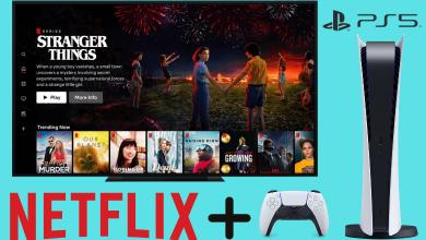 Netflix on PS5