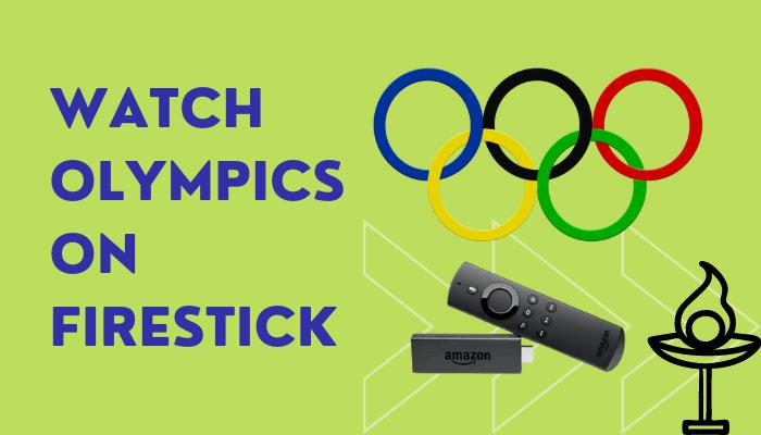 Olympics on Firestick