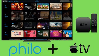 Philo on Apple TV