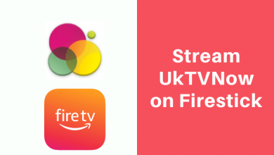 UkTVNow on Firestick