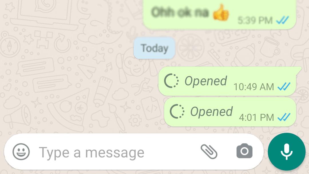 Turn on opened