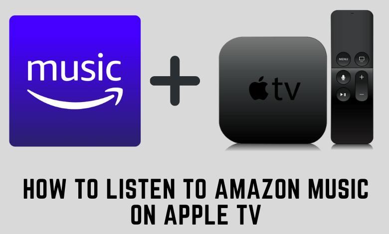 Amazon Music on Apple TV