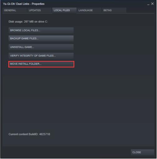 Move Install Folder - Change Steam Install Location