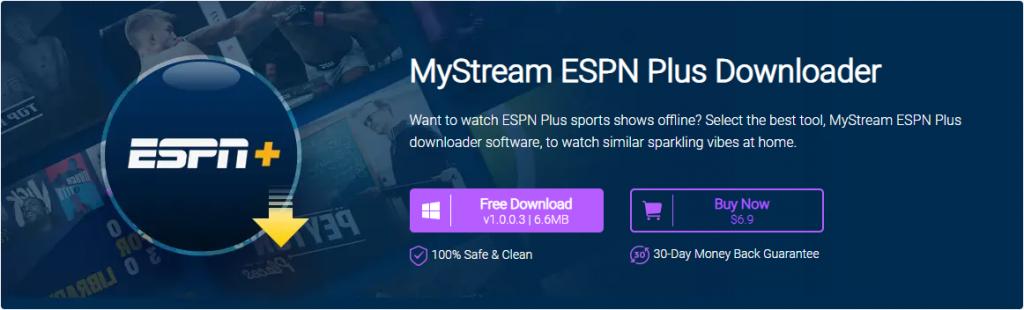 MyStream ESPN Plus Downloader - Download ESPN Offline