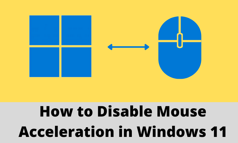 How to Disable Mouse Acceleration in Windows 11