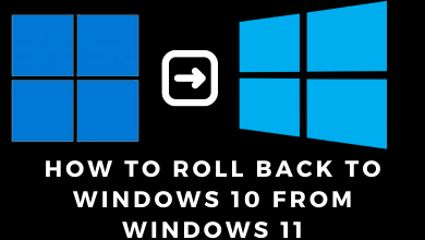 How to Roll Back to Windows 10 From Windows 11