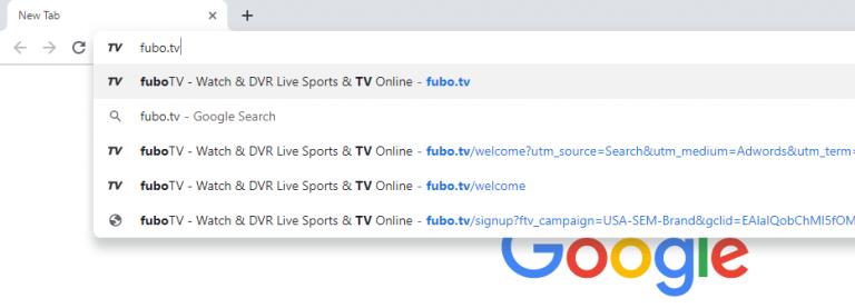 fuboTV Website