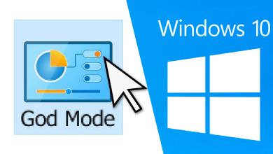 God Mode in Windows 10