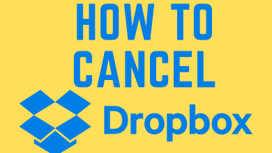 How to Cancel Dropbox Subscription