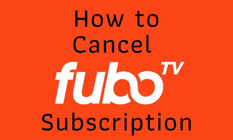 How to cancel fuboTV