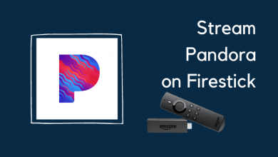 Pandora on Firestick