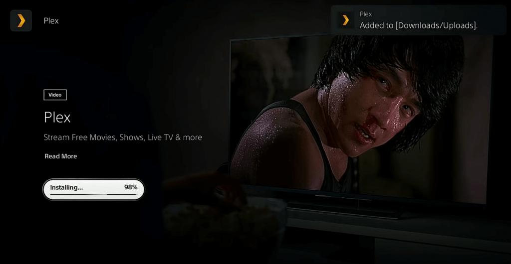 Install Plex on PlayStation 5