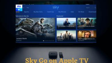 Sky Go on Apple TV