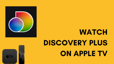 Discovery Plus on Apple TV