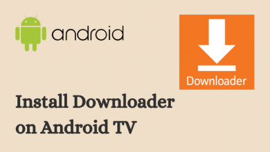 Downloader on Android TV
