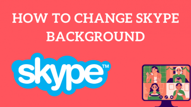 How to Change Skype Background
