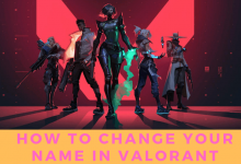 How to Change your Name in Valorant