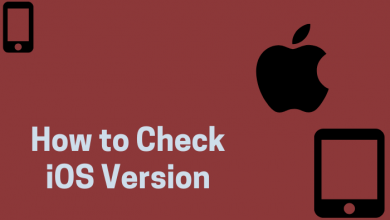 How to Check iOS Version