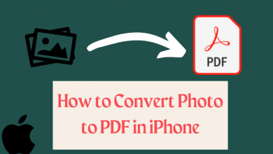 How to convert Photo to PDF in iPhone