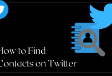 How to Find Contacts in Twitter